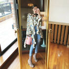 Women`s Floral Patterned Pleated Dolman Blouse Free Size Made to Order