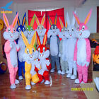 Easter Day Rabbit Bugs Bunny Mascot Costume handmade Easter 10 Clolors Available