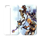 Kingdom Hearts H style coolest phone shell case for Iphone 5s /5c/6/4s WE716