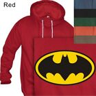 MEN'S PULLOVER HOODIE BATMAN LOGO - RETRO #204 - S to 4XL PLUS