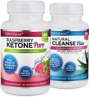 Raspberry Ketone And Colon Cleanse Detox Combo UK Manufactured High Quality