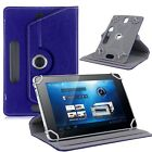 """360°Universal Leather Cover cases Stand holder For 7"""" 8"""" 9"""" 10"""" 10.1"""" Tablet PC"""