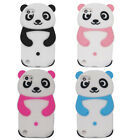 Cute 3D Panda Soft Silicone Back Washable Case for Apple iPod touch 5th/6th