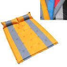 AMO Self Inflating Bed Camping Mat Airbed Pad Sleeping Mattress Bag 2 Person New