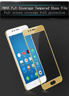 For MEIZU M5S Imak 2.5D Protection Shockproof Full Cover Tempered Glass Screen