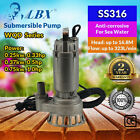 Marro SS316 Sewage Submersible Pump Corrosion-resistant 250W - 750W