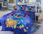 New 2017 Disney Lilo Stitch Bedding Set 4pc Queen King Bed Cotton Gift RARE