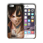 Attack on Titan Eren Yeager Iphone 4s 5s 5c SE 6 6s 7 8 X XS Max XR Plus Case 04