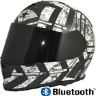 TORC T14 Mako Built In Bluetooth Full Face Dual Visor Motorcycle Helmet Force