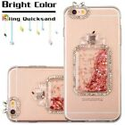 Apple iPhone 6 6s Plus Bling Hybrid Liquid Glitter Rubber Protective Case Cover фото