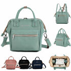 Small Convertible Water Resistant Baby Diaper Bag Backpack Crossbody Bag