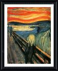 The Scream by Edvard Munch | Framed canvas | Wall art print paint painting HD