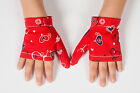 STOP CHILD THUMBSUCKING GLOVES KIDS THUMB GUARD FOR GIRLS HANDMADE COLOURFUL