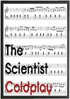 Coldplay Lyrics Print / Poster any musician sheet music piano print any song