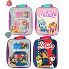PAW PATROL LUNCH PACK SET BAG KIDS BOYS GIRLS CHILDREN DRINK BOTTLE SANDWICH BOX