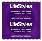 LIFESTYLES SNUGGER FIT CONDOMS LATEX LUBRICATED CONDOMS BEST SECURED FIT