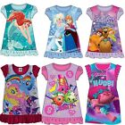 Girls Officially Licensed Character Nightdress Nightie Pyjamas. BNWT Ages 2-8 (2