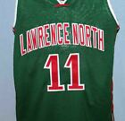 MIKE CONLEY LAWRENCE NORTH HIGH SCHOOL JERSEY AUTHORIZED GREEN SEWN ANY SIZE