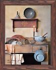 The kitchen sink, framed print, by artist Billy Jacobs (BJ1081)