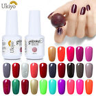 Ukiyo 15ml Soak Off UV Gel Nail Polish No Wipe Top Base Coat Manicure UV LED