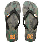DC NEW Mens Camo Spray Graffik Flip Flops BNWT