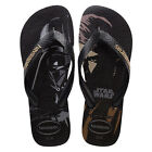 HAVAIANAS NEW Mens Black Star Wars Flip Flops BNWT