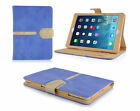 Shockproof Magnetic Smart Cover 360 Rotating Suede Style Case for Apple iPad
