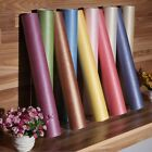 10M Silk Modern Brief Plain Solid Color Non-woven Wallpaper Roll TV Background