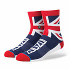 STANCE SOCKS NEW Mens The Queen Socks Navy BNWT