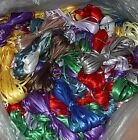 100   YARDS  OF  1/8  ASSORTED  SATIN RIBBON