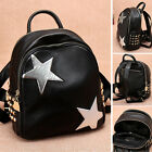 Women's Small Real Leather Backpack Rucksack Daypack Purse Cute bag Handbag