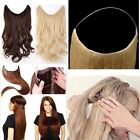 "16""18""20""Body Wave Flip In Secret Miracle Halo 100% Human Hair Extensions 80g"