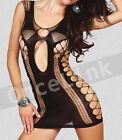 Sexy Sleepwear Lingerie Nightie Babydoll Fishnet Mini Dress Dancewear Pubbing