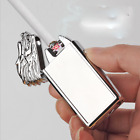Rechargeable USB Electric Arc Plasma Flameless Lighter Gifts Gragon New