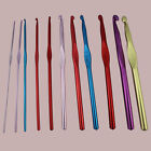Knit Pro Waves Handle Crochet Hooks Needles Yarn Rainbow Aluminium long 2mm-10mm