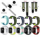 Replacement Silicone Rubber Sports Strap For Apple Watch Band Series 2 /1 - UK