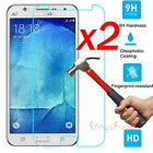2x 9H Tempered Glass Film Screen Protector Guard for Samsung Galaxy S4 S5 S6 S7