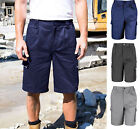 Result Mens Action Work Cargo Shorts Trousers - Durable Hardwearing Strong