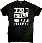 Rock n Roll Hellmotors T-Shirt Hot Rod V8 US Car Vintage Rockabilly Oldschool