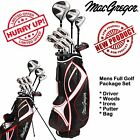 MACGREGOR GOLF SET COMPLETE GOLF PACKAGE SET MENS GOLF SET RIGHT HAND *NEW 2017*