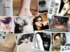 60Pattern Temporary Tattoo Romantic Design Waterproof Body Art Paper Sticker 1PC