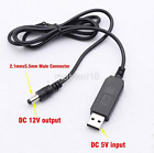 USB Barrel Male Connector Power 2.1mm X 5.5mm DC 5V To 9V 12V DC Cable Plug