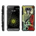 For LG G6 / G6+ Case Rugged Hybrid Holster Belt Clip Kickstand Dual Layer Cover