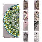 Case For Samsung Galaxy C7 / C7000 Soft TPU Silicone Skins Back Cover Flower