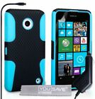 Yousave Accessories Tough Mesh Combo Silicone Cover With Car Charger For Nokia
