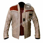 Star Wars Men's Classic Fashion John Boyega Finn Genuine Leather Jacket £73.99 GBP