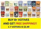 Внешний вид - ☆☆VOTIVE CANDLES☆☆YANKEE CANDLE☆☆YOU CHOOSE☆☆BUY 7 OR MORE FOR FREE SHIPPING