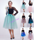 7 Layers Maxi Long Tulle Skirt Celebrity Skirts women Adult Tutu Ball Gown