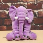 Long Nose Lovely Elephant Doll Sleep Pillow Baby Kids Soft Plush Lumbar Cushion