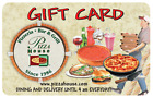 Pizza House Gift Card - $25, $50 or $100  Fast Email delivery